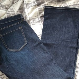 GAP did rise flare jeans size 14/32